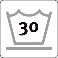 Lavaggio delicato max 30°