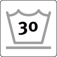 30 ° delicate wash